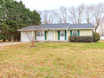 Ocean View Single Family Home For Sale: 739 Hickman Dr