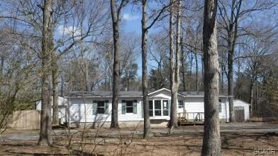 Sussex County Single Family Home For Sale: 23547 Burton