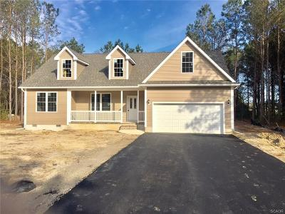 Single Family Home For Sale: 24770 Mill Pond