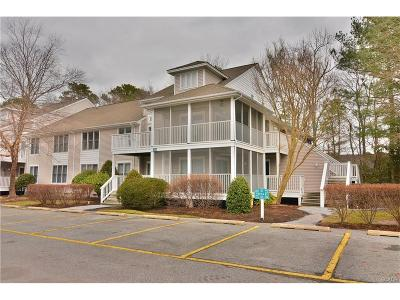 Bethany Beach Condo/Townhouse For Sale: 33492 Lakeshore Drive #53015
