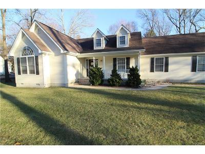 Bridgeville Single Family Home For Sale: 16639 Woodland