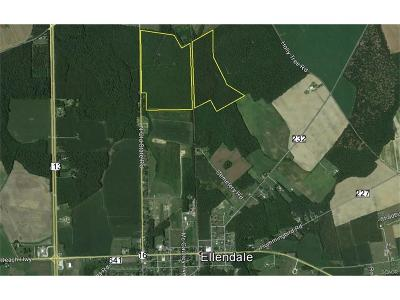 Ellendale Residential Lots & Land For Sale: 0000 North Old State Road