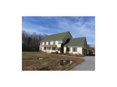 Sussex County Single Family Home For Sale: 12921 Lighthouse