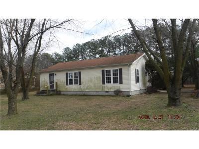 Laurel Single Family Home For Sale: 31417 Mount Pleasant