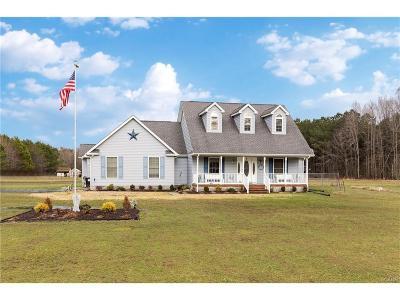Bridgeville Single Family Home For Sale: 18315 Atlanta