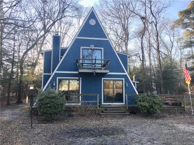 Selbyville Single Family Home For Sale: 36872 Old Mill Bridge
