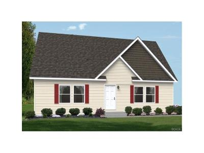 Selbyville Single Family Home For Sale: Lot 23 Pinto Dr