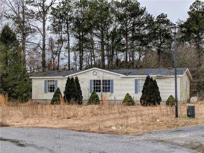 Bridgeville Single Family Home For Sale: 19080 Roadside