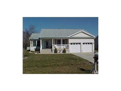 Selbyville Single Family Home For Sale: 36747 Breakwater