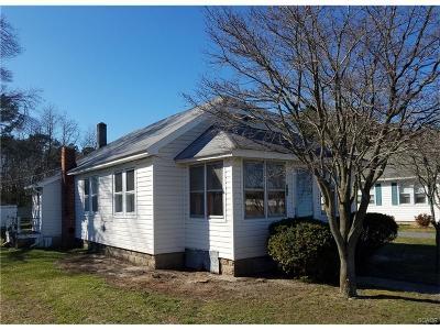 Ellendale Single Family Home For Sale: 605 Washington