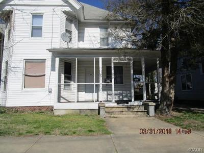 Seaford Multi Family Home For Sale: 221 N Arch Street