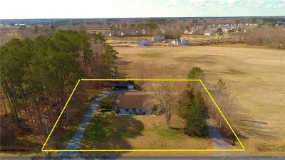 Selbyville Single Family Home For Sale: 32106 Lynch Rd.