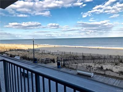 SOUTH REHOBOTH Condo/Townhouse For Sale: 307 S Boardwalk #104