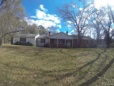 Laurel Single Family Home For Sale: 135 Allen Ave