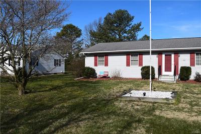 Milford Single Family Home For Sale: 637 Evans Drive