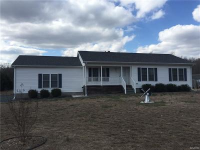 Laurel Single Family Home For Sale: 15125 Trap Pond Rd.
