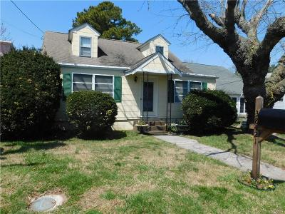 Rehoboth Beach Single Family Home For Sale: 38421 George St.