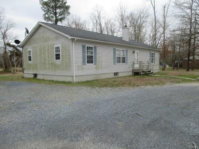 Bridgeville Single Family Home For Sale: 18853 Chaplains Chapel