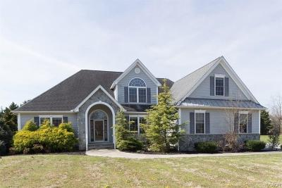 Sussex County Single Family Home For Sale: 4 Parker Drive