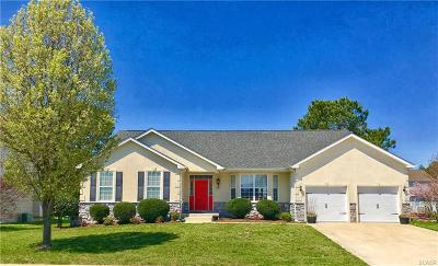 Milton Single Family Home For Sale: 107 Carriage Drive