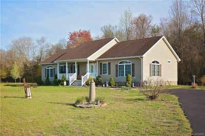 Single Family Home For Sale: 16242 Long Branch Road
