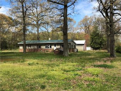 Single Family Home For Sale: 30312 Thorogoods Road