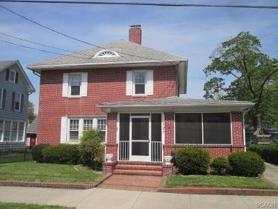 Seaford Single Family Home For Sale: 127 N Cannon St