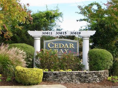 Condo/Townhouse For Sale: 30611 Cedar Neck