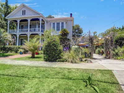 Fernandina Beach Single Family Home For Sale: 11 S 7th Street