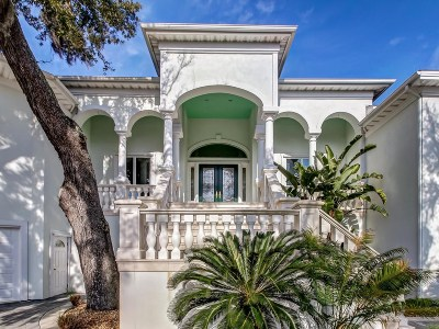 Fernandina Beach FL Single Family Home For Sale: $3,895,000