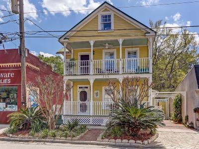 Fernandina Beach Single Family Home For Sale: 508 Ash Street
