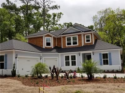 Fernandina Beach Single Family Home For Sale: 1286 Quattlefield Lane