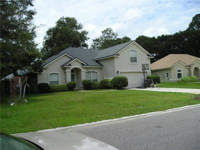Yulee Single Family Home For Sale: 86088 Meadowridge Court