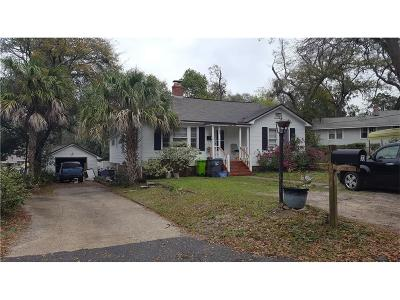 Fernandina Beach Single Family Home For Sale: 33 Oak Grove Place