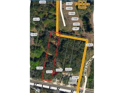 Fernandina Beach Single Family Home For Sale: 2221 Sadler Road