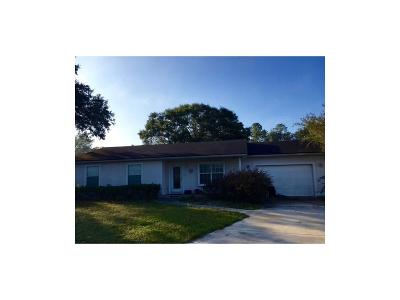 Single Family Home For Sale: 451638 State Road 200 Highway
