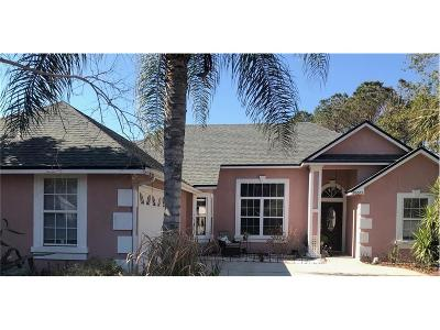 Fernandina Beach Single Family Home For Sale: 96575 Otter Run Drive