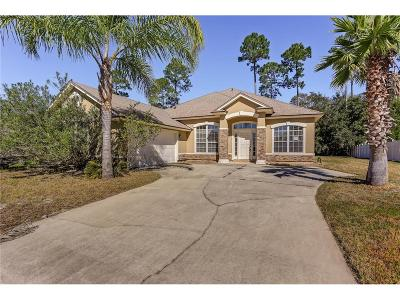 Fernandina Beach Single Family Home For Sale: 33392 Sunny Parke Circle
