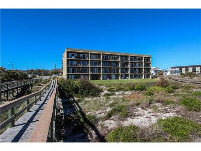 Fernandina Beach, Fernandina Beach/amelia Island, Yulee Condo/Townhouse For Sale: 3150 S Fletcher Avenue #105