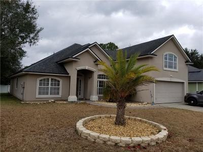 Yulee Single Family Home For Sale: 86183 Evergreen Place