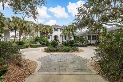 Fernandina Beach FL Single Family Home For Sale: $1,850,000
