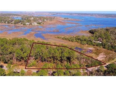 FERNANDINA Residential Lots & Land For Sale: 96130 & 96138 Brady Point Road