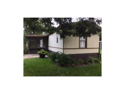 FERNANDINA Mobile Home For Sale: 1428 Holly Drive