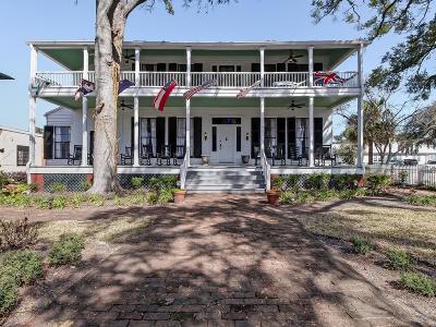 Fernandina Beach, Fernandina Beach/amelia Island, Yulee Single Family Home For Sale: 415 Centre Street