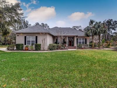 Fernandina Beach Single Family Home For Sale: 96130 Lanceford Lane