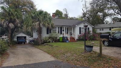 Fernandina Beach Single Family Home For Sale: 33 Oak Grove Place