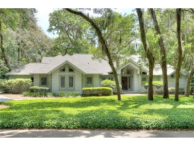 Fernandina Beach Single Family Home For Sale: 19 Railroad Vine Road