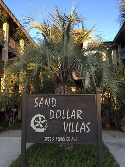 Fernandina Beach Condo/Townhouse For Sale: 3056 S Fletcher Avenue #106