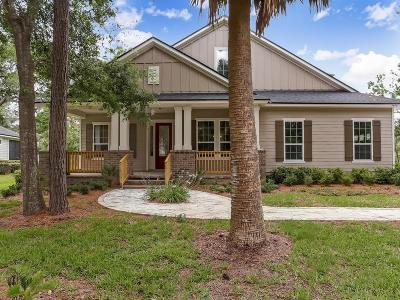 Fernandina Beach FL Single Family Home For Sale: $589,900