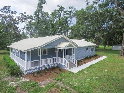 Yulee Single Family Home For Sale: 85154 Harts Road